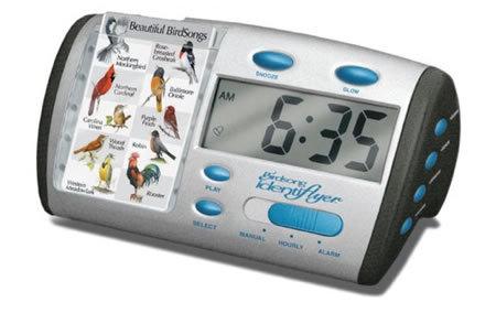 Reloj alarma que te despierta con sonidos de p jaros for Sonido de alarma