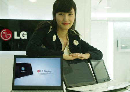 LG Privacidad en pantallas de Notebooks