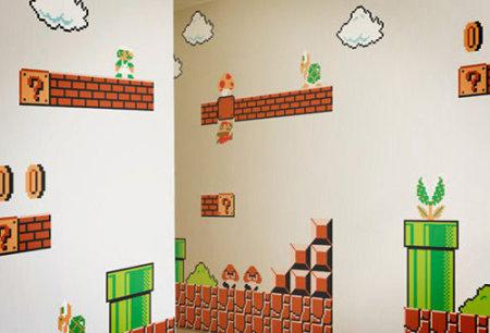 Mario Bros pared