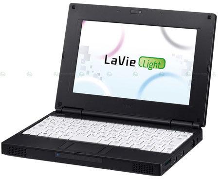 Nec LaVie Light Netbook