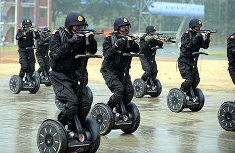 Segway Policia China