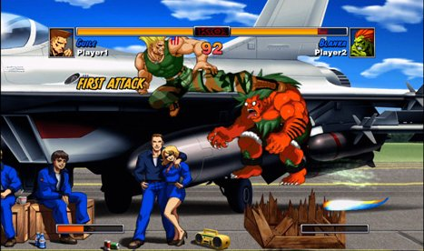 Super Street Fighter II Turbo HD