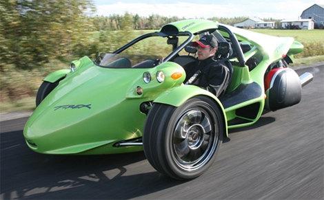 T Rex Una Super Motocicleta De Tres Ruedas