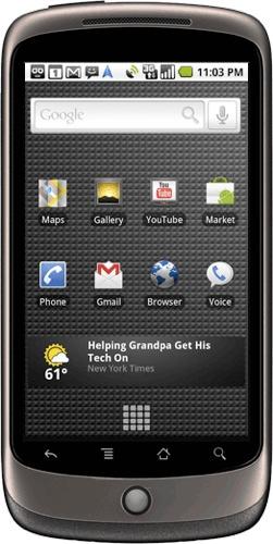 Google Nexus One, el nuevo smartphone de Google. Google-nexus-one-1