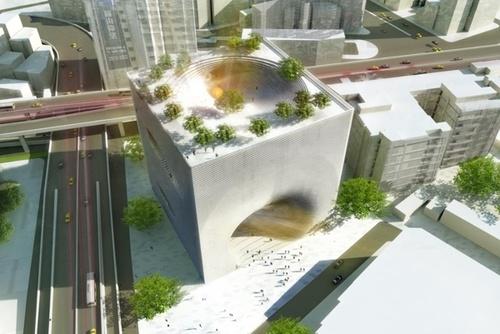 [N] Impresionante Edificio Entrelazado  TED-2