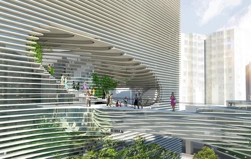 [N] Impresionante Edificio Entrelazado  TED-4