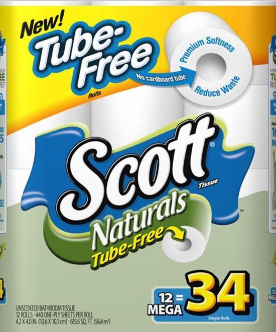 Scott Naturals Tube-Free